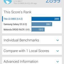 LG G3 тестирование