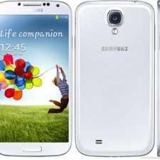 Samsung Galaxy S4 I9500 белый