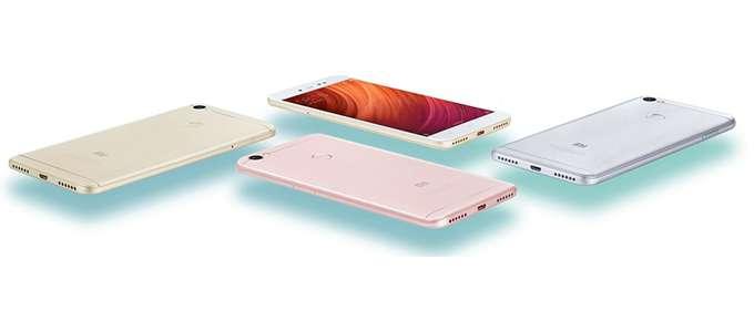 Xiaomi Redmi Note 5A цвет