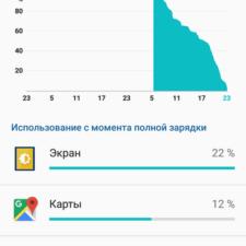 Обзор Sony Xperia XZ battery