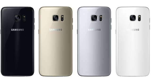Цвета смартфона Samsung Galaxy S7 Edge