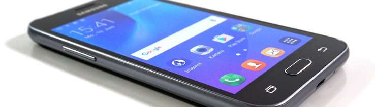 Samsung Galaxy J1 2016 угол обзора
