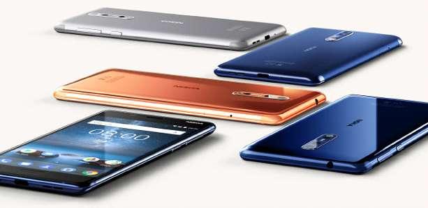 Обзор Nokia 8 цвета