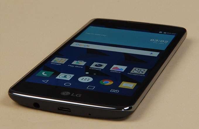 LG K8 дисплей