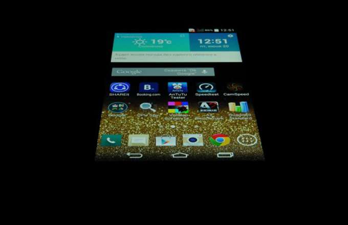 LG G3 дисплей