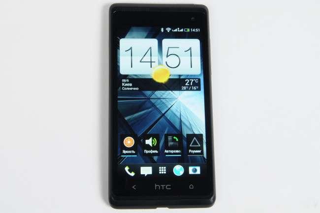 лицевая сторона HTC Desire 600 Dual Sim