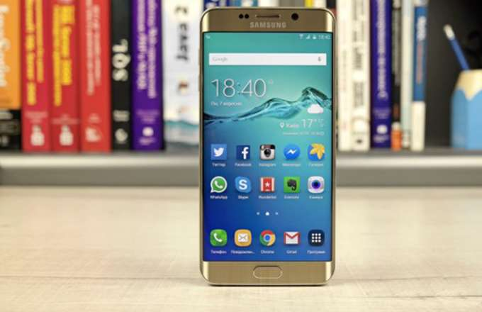 Samsung Galaxy S6 edge+ внешний вид