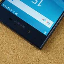 Обзор Sony Xperia XZ фронтальная камера