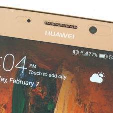 Huawei Mate 9 Pro фронтальная камера