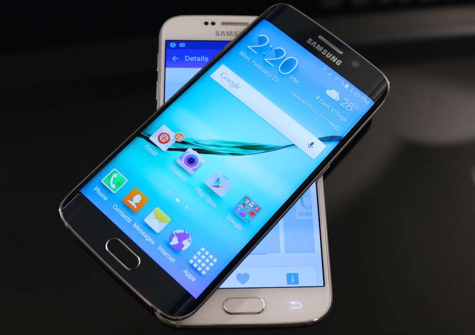 Samsung Galaxy S6 экран