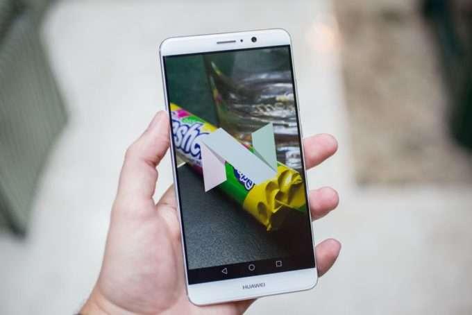 Huawei Mate 9 дисплей