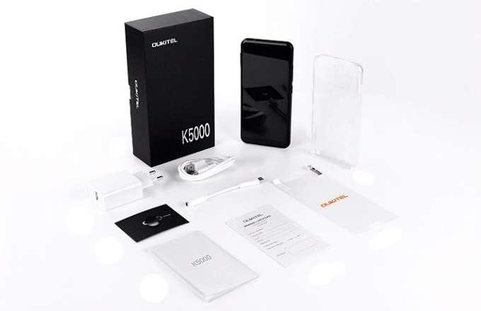 Обзор Oukitel K5000 комплектация