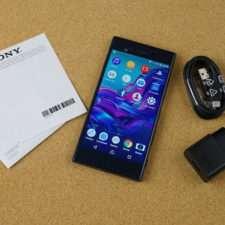 Обзор Sony Xperia XZ коробка