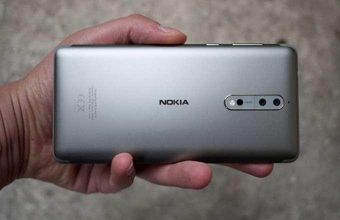 Обзор Nokia 8 задняя крышка