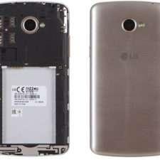 LG K5 задняя панель