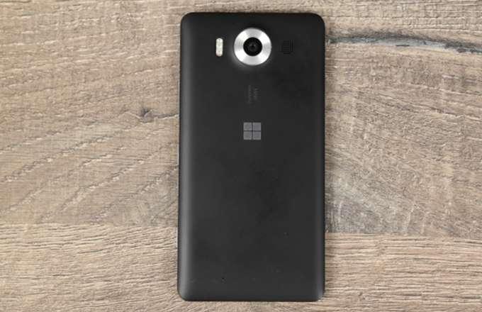 Microsoft Lumia 950 задняя панель