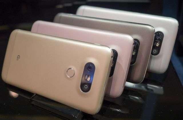 Цветовое оформление LG G5