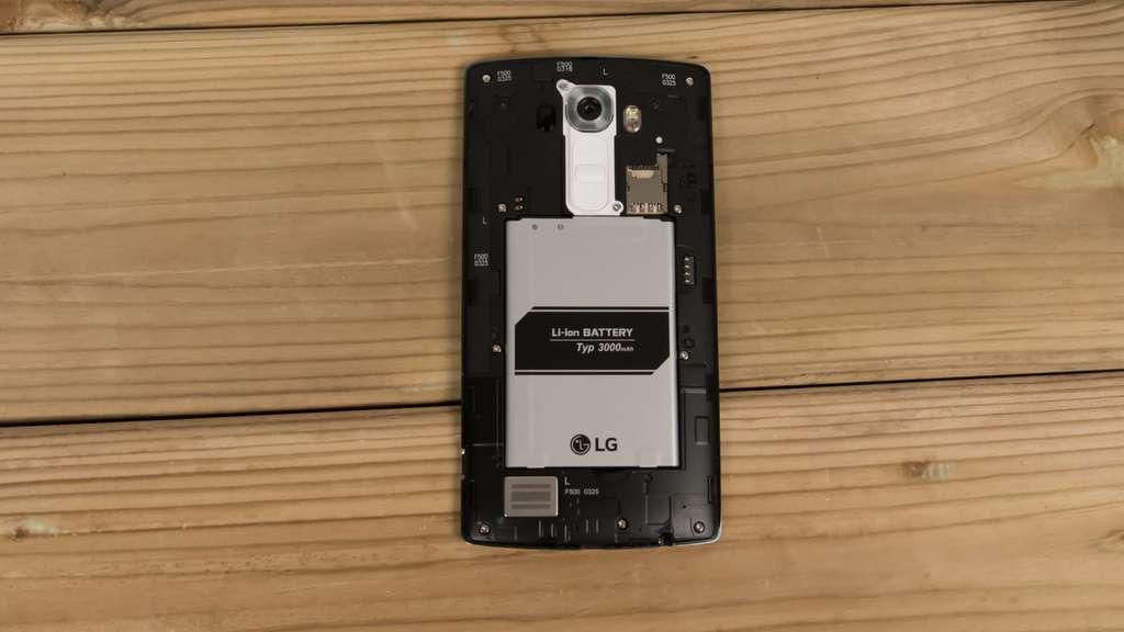 LG G4 батарея