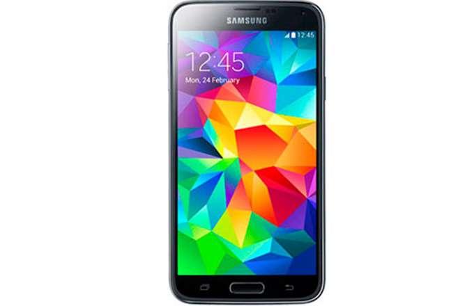 Samsung Galaxy S5 лицевая сторона
