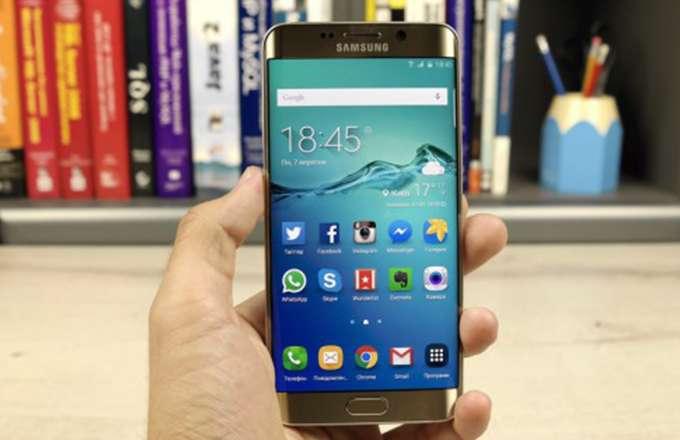 Обзор Samsung Galaxy S6 edge+ внешний вид