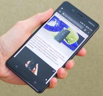 Обзор Nokia 8 лицевая панель