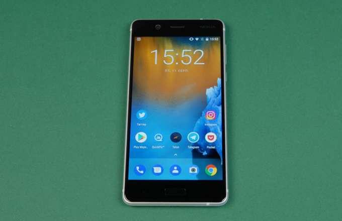 Nokia 5 лицевая сторона
