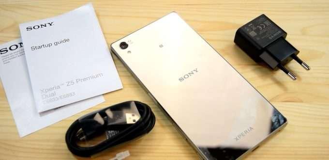 Sony Xperia Z5 Premium комплектация