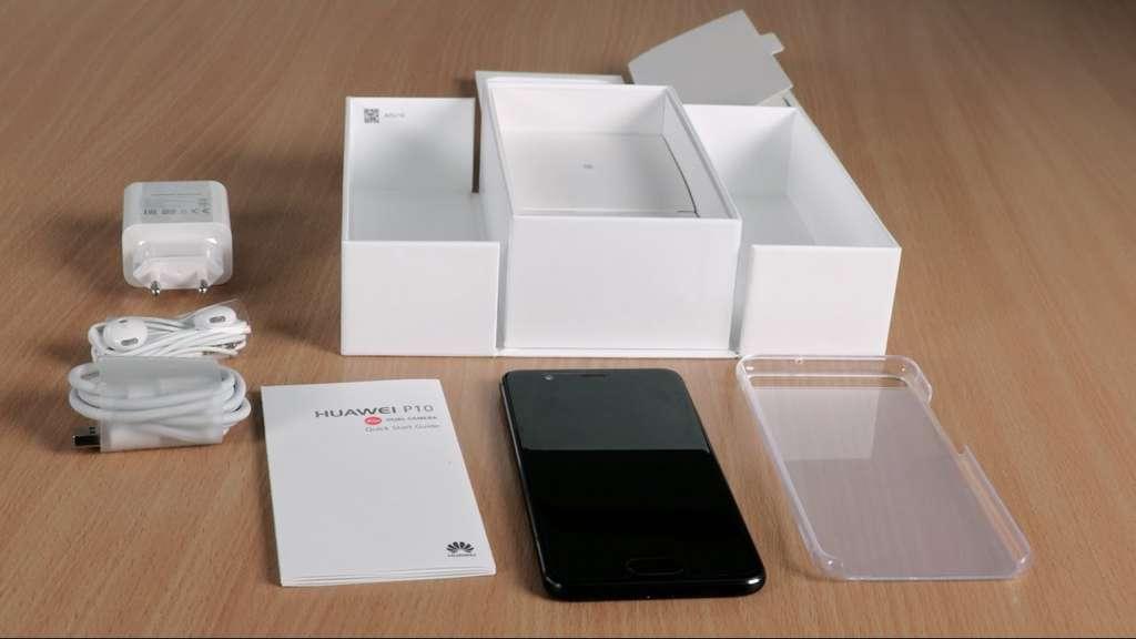 Huawei P10 Коробка смартфона