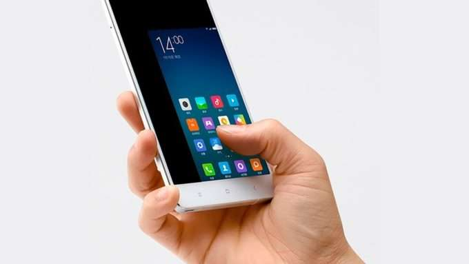экран при работающей функции управления одной рукой