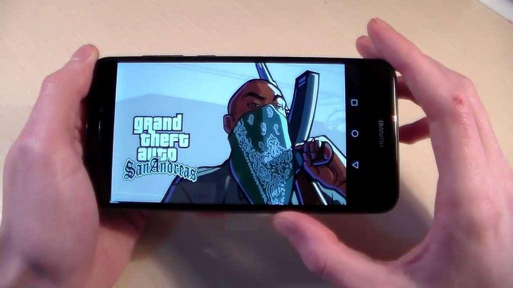 Huawei P8 Lite 2017 игра GTA SA