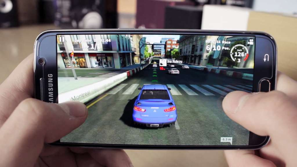 Samsung Galaxy S6 игра