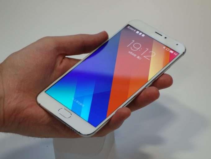 Meizu MX5 дисплей