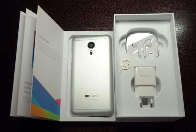 Комплектация Meizu MX5