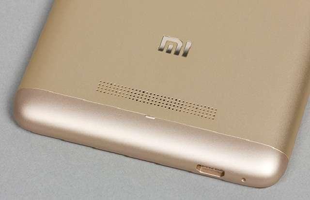 Xiaomi Redmi 3S звук