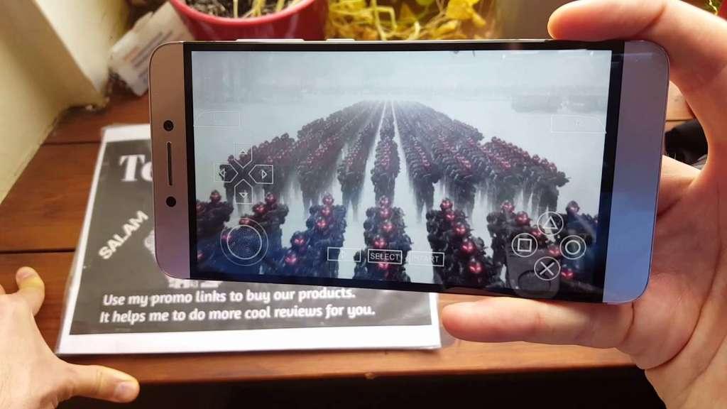 Le Pro 3 Игра на смартфоне