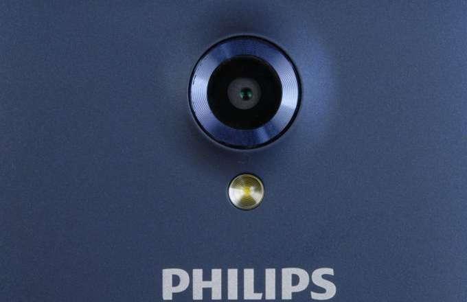 Philips Xenium S386 Основная камера