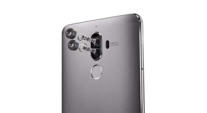 Huawei Mate 9 двойная камера
