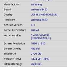 Samsung Galaxy Note 3 характеристики