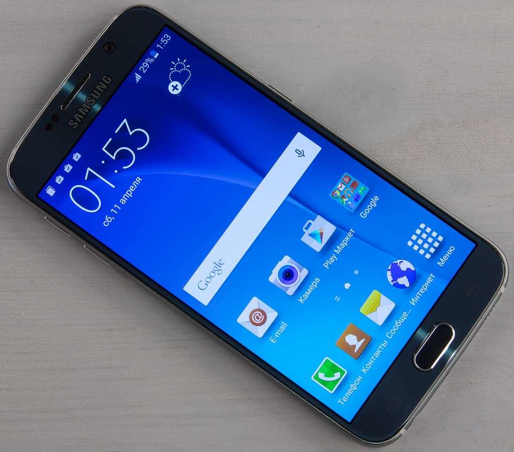 Samsung Galaxy S6 дисплей