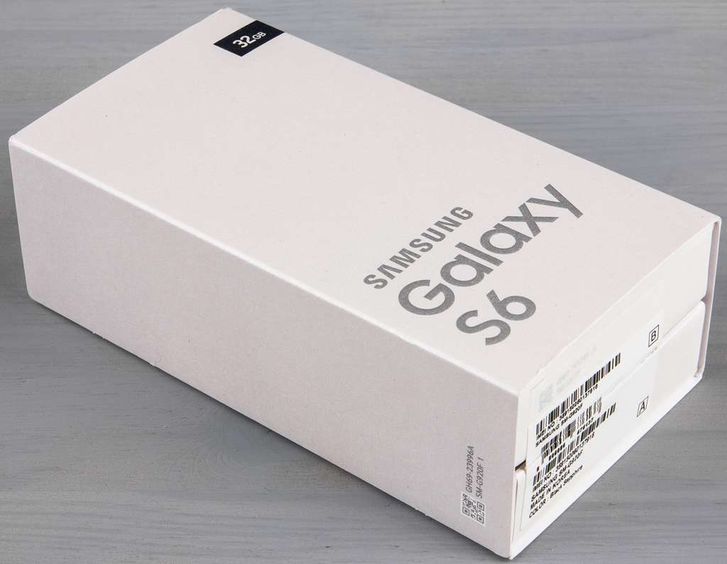 Коробка Samsung Galaxy S6