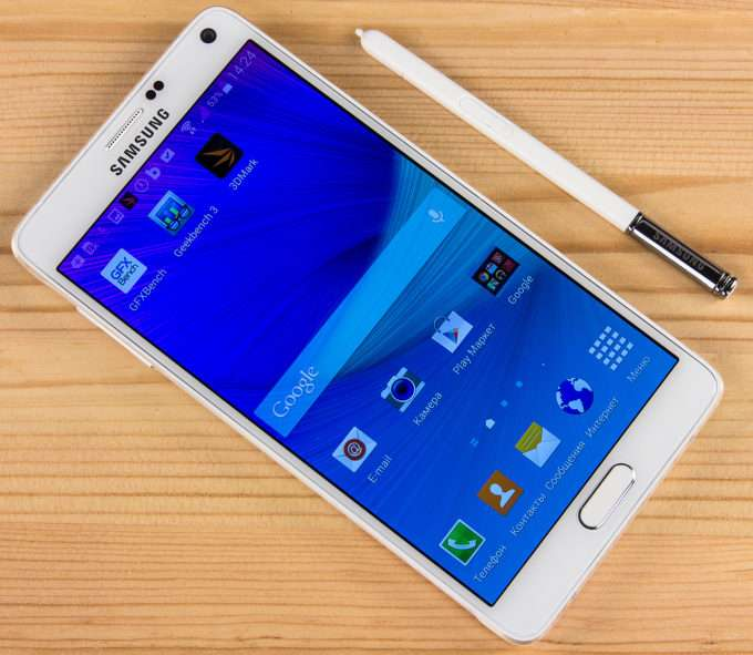 дисплей Samsung Galaxy Note 4