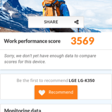 LG K8 Tests