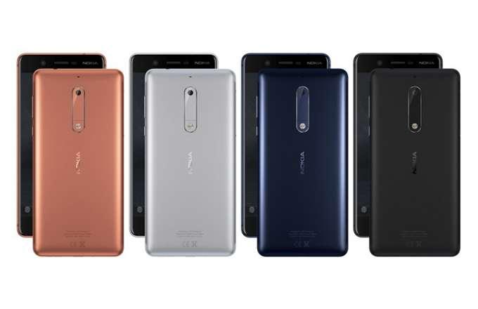 Nokia 5 Цвета