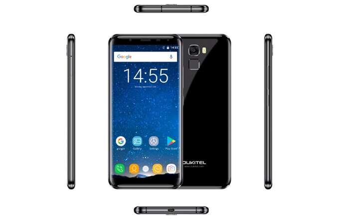 Обзор Oukitel K5000 вид смартфона