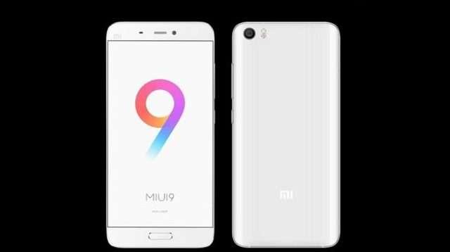 MIUI 9 Global для Xiaomi Mi5s