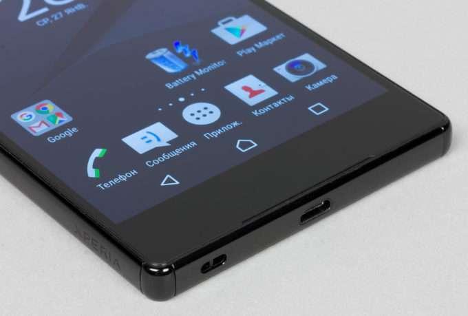 Sony Xperia Z5 Premium звук