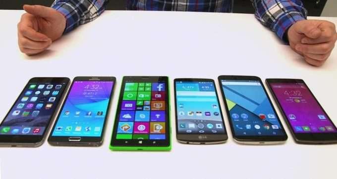 Все типы экранов смартфонов