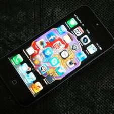 iphone 5 лицевая панель