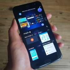 виджеты на экране смартфона