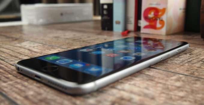 iPhone 6 Plus лицевая часть